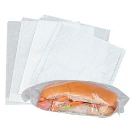 """22x22cm (8.5x8.5"""") Film Fronted Paper Bags 1000 per Case"""