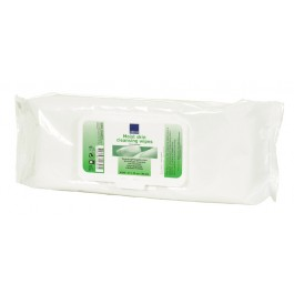 Abena Moist Skin Cleansing Wipes - Pack of 80 Wipes
