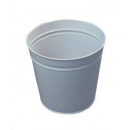 Round 15ltr Metal Office Bin