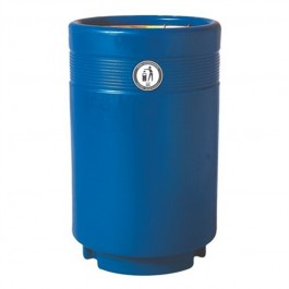 Calder Open Top Outdoor Litter Bin