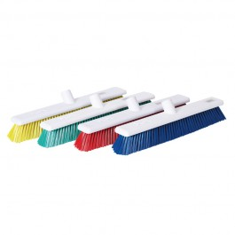 """45cm / 18"""" Stiff Hygiene Brush Head - Available In Blue, Green, Red and Yellow"""