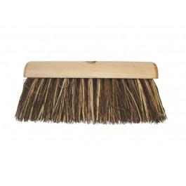 "33cm (13"") Stiff Wooden Yard Brush Head"
