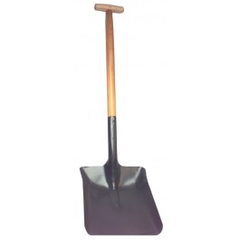 Long Handled No 6 Metal Shovel