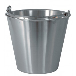12Ltr Stainless Steel Bucket Pail