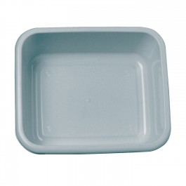 Grey Rectangular Plastic Washing Up Bowl