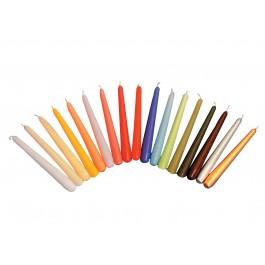 """20cm (8"""") Non-Drip Wax Candles - Box of 100"""