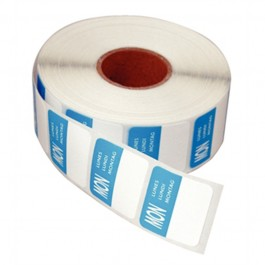 Day Stickers - Monday - Roll of 1000 Labels