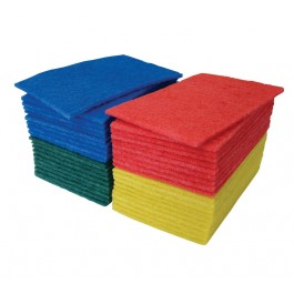 "23x15cm (9x6"") Scouring Hand Pads - Case of 50"