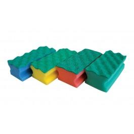 Vileda Professional PurActive Foam Scourers - Pack of 10