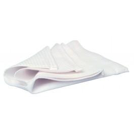 """50x81cm (20x32"""") White Honeycomb Tea Towels - Pack of 10"""