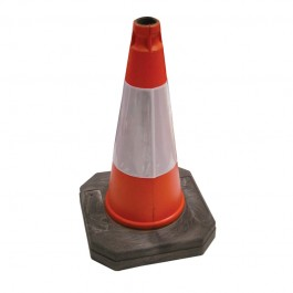 "500mm (20"") Orange High Visibility Road Cone"
