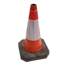 "500mm (20"") Orange High Visibility Road Cone"
