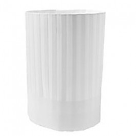 """230mm (9"""") Pleated Paper Toque Chefs Hats"""
