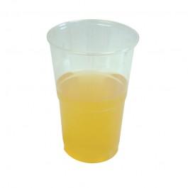Half Pint Flexible Plastic Beer Glasses - Case of 1000