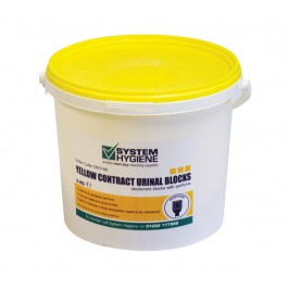 Non PDCB Yellow Channel Deodorant Cubes 3kg Tub