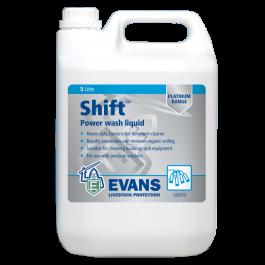 Evans Vanodine Shift Heavy Duty Power Wash Liquid 5ltr