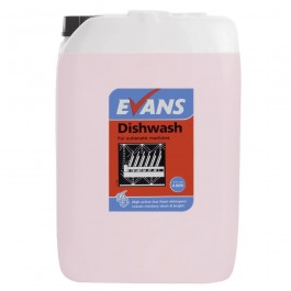 Evans Vanodine Auto Dosing Dish Wash Detergent 10Ltr