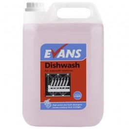 Evans Vanodine Auto Dosing Dish Wash Detergent 5Ltr