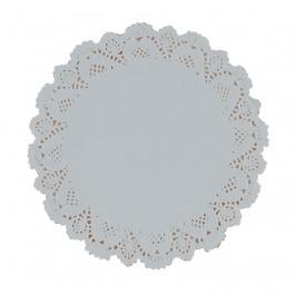 """24cm (9.5"""") Round Lace Paper Doilies - 2000 per Case"""