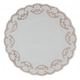 """27cm (10.5"""") Round Lace Paper Doilies - 2000 per Case"""