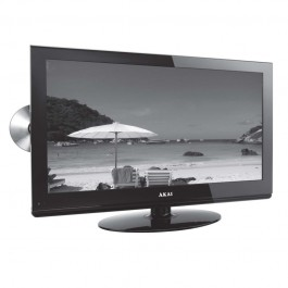 """Akai 24"""" LCD Television with Built in DVD and Freeview HD Ready"""
