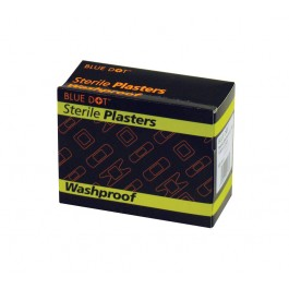 Assorted Washproof Plasters - Box of 100