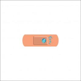 25x75mm Washproof Finger Plasters - Case of 100