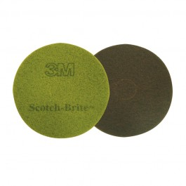 "380mm (15"") 3M Diamond Floor Pad - Case of 5 - Available in Purple and Sienna"