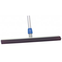 "55cm (22"") Double Blade Plastic Floor Squeegee and Handle"