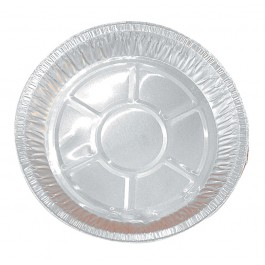 "25cm (10"") Plate Pie Foils - Case of 100"