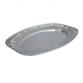 Oval Foil Medium Platters - 10 per Pack