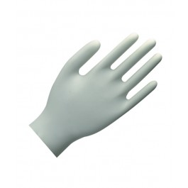 Powder Free Clear Vinyl Disposable Gloves - Box of 100