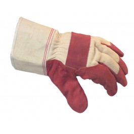 Quality Leather Hide Rigger Gloves