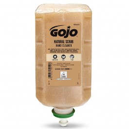 GOJO Natural Scrub Hand Cleaner (Pack of 4 x 2 Litre Refills)