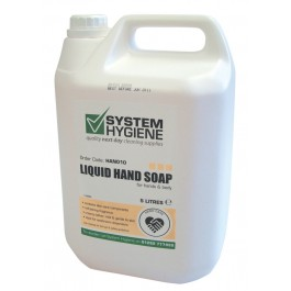 Liquid Hand and Body Soap 5Ltr