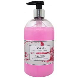 Evans Vanodine Pink Pearl Hand Soap & Body Wash 500ml Pump