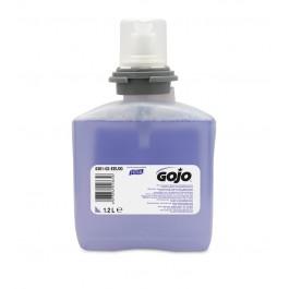 GOJO 5361 TFX Premium Foam Hand Wash with Skin Conditioners 1200ml - 2 Cartridges per Case
