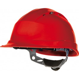 Delta Plus Quartz IV Safety Helmet - Available In White, Blue, Yellow, Orange, Red and Green