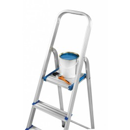 3 Step SupaTool Aluminium Step Ladder