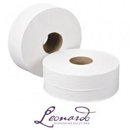 Leonardo JT81SW Versatwin 125m 2 Ply Toilet Rolls - 24 per Case