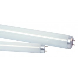 "T8 600mm (2') 25mm (1"") 18w White Slimline Fluorescent Tube"