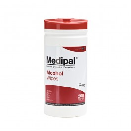 Medipal Alcohol Medical Wipes - Tub of 200 Wipes
