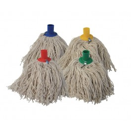 Plastic Socket Cotton Yarn Mop Head - Colour Coded