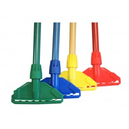 Aluminium 1500mm Kentucky Mop Handle - Colour Coded