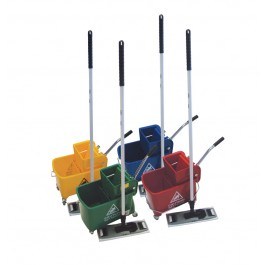 Microspeedy Microfibre Flat Mopping System - Colour Coded