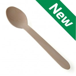 Disposable Wooden Spoons (Case of 2000)