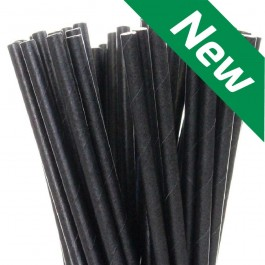 Compostable Paper Straws - Box of 250