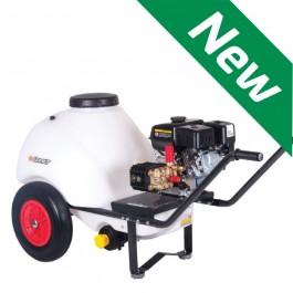Wheelbarrow Pressure Washer 120ltr 8lpm 150 Bar