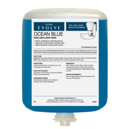 Evans Evolve Ocean Blue Hand, Body Wash Cartridge