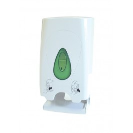 Modular Plastic Two Roll Toilet Roll Dispenser